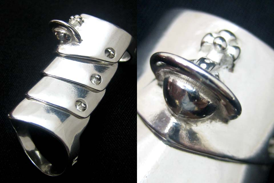 vivienne westwood armor ring. Free Shipping Specials - 45% OFF - [New] Amaringu Vivienne Westwood Armour