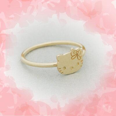 Hello Kitty Gold Ring