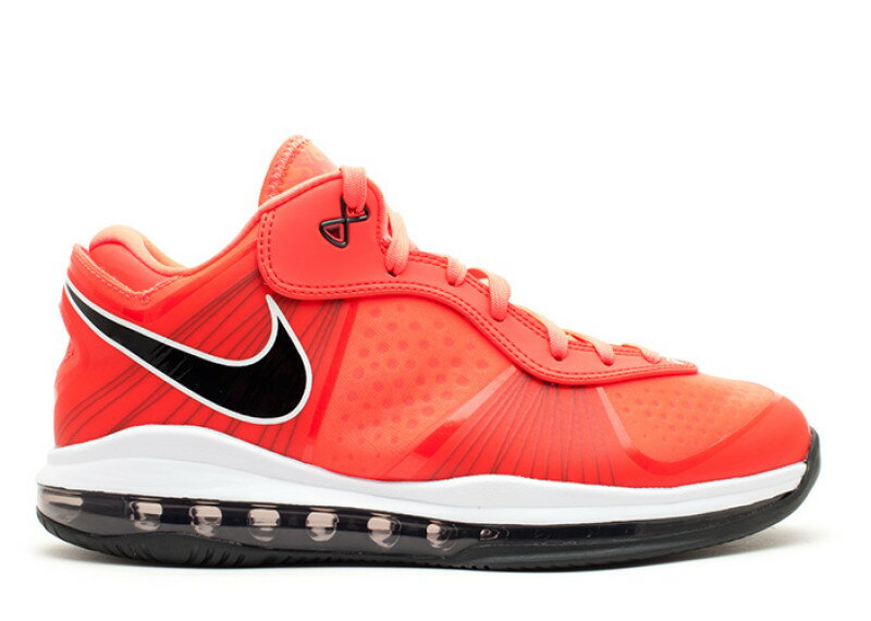 Nike Lebron 8 Solar Red Low On Foot