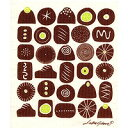 可愛くお掃除!北欧のデザイナーのイラスト入りスポンジワイプベングト&ロッタ スポンジワイプ チョコレート