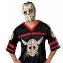 【通常便なら送料無料】13日の金曜日 「洋画 ホラー」、ジャージのジェーソン、ハロウィン、コスプレ、コスチューム、衣装 パーティー 結婚式 2次会 演出 / Friday the 13th Jason Hockey Jersey with Mask Adult 4914
