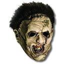 【通常便なら送料無料】悪魔のいけにえ 「洋画 ホラー」、レザーフェイス、マスク、ハロウィン、コスプレ、コスチューム、衣装、 パーティー 結婚式 2次会 演出 /Leatherface Mask Adult 5755