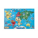 幼児用 知育、玩具、おもちゃ、 世界地図パズル 幼児用
