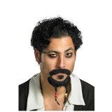 【通常便なら】【パイレーツオブカリビアンを中心とした海賊衣装とコスプレグッズ】パイレーツ・オブ・カリビアン 公式:ジャック・スパロウ ひげ ハロウィン コスプレ・グッズ パーティー