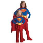 コスプレ スーパーマン 服 衣装 スーパーガール ハロウィン ティーン用 コスチューム