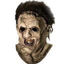 【通常便なら送料無料】悪魔のいけにえ 「洋画 ホラー」 レザーフェイス ハロウィン コスプレ衣装 コスチューム パーティー 結婚式 二次会 演出 / Leatherface Deluxe Mask 8853