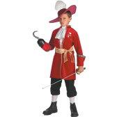 フック船長 コスチューム ディズニー 子供 衣装 コスプレ ピーターパン 海賊 悪者 悪役 男の子