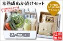 ショッピングキット 【送料無料】本熟成ぬか漬セット(20-M)