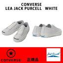 CONVERSE コンバース LEA JACK PURCELL レザー ジャックパーセル LEATHER WHITE ホワイト メンズサイズ 正規品
