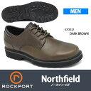ロックポート:ウォーキングシューズ:Northfield:ノースフィールド:K70012:ダークブラ...