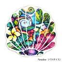【シェル型ハンドタオル】Colleen Wilcox(コリーン ウィルコックス) <Paradise/Island Style/Sea Shells> ハンドタオル ハンカチタ..