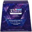 【訳あり/箱なし/10回分】クレスト ホワイトプロフェッショナルエフェクツホワイトストリップス 10ct Crest 3D White Professional Effects Whitestrips