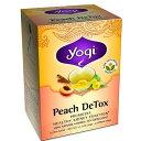 Yogi Tea ヨギティー ピーチ ディトック ハーブティー 16袋入 Peach DeTox