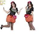 ビッグリボンパンプキン Ladies♪ビックリボンが付いたキュートなワンピース☆スカート部分はカボチャスカート☆AOIコレクションのコスプ..
