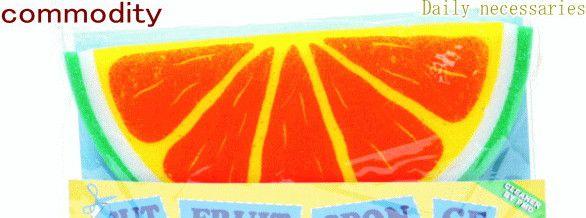 【あす楽対応】【大幅 !】【大大人気】【40 】ドデカ!フルーツスポンジ【カット】オレンジのスポンジで楽しく食器洗いをしましょう♪大きめサイズですヨ♪【】【新商品】【大人気】【大大人気】