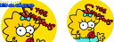 ザ・シンプソンズ【The Simpsons】【マギー】人気の缶バッジを大量投入!服やバック・カバンなどをリメイクしちゃいましょう♪なつかし..