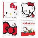 【アートデリ】キティちゃんのファブリックボード インテリア アート 雑貨