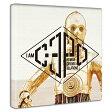 【5000円以上で送料無料】「C3PO」スターウォーズのファブリックボード インテリア アート 雑貨
