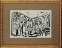 【版画】【中古】 スケッチブックより #33 リトグラフ なし パブロ・ピカソ(Pablo Picasso)