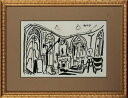 【版画】【中古】 スケッチブックより #35 リトグラフ なし パブロ・ピカソ(Pablo Picasso)