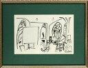 【版画】【中古】 スケッチブックより #21 リトグラフ なし パブロ・ピカソ(Pablo Picasso)
