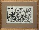 【版画】【中古】 スケッチブックより #13 リトグラフ なし パブロ・ピカソ(Pablo Picasso)