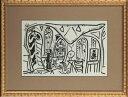 【版画】【中古】 スケッチブックより #05 リトグラフ なし パブロ・ピカソ(Pablo Picasso)