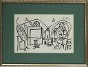 【版画】【中古】 スケッチブックより #19 リトグラフ なし パブロ・ピカソ(Pablo Picasso)