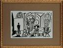 【版画】【中古】 スケッチブックより #07 リトグラフ なし パブロ・ピカソ(Pablo Picasso)