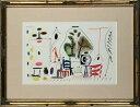 【版画】【中古】 スケッチブックより #28 リトグラフ なし パブロ・ピカソ(Pablo Picasso)