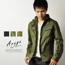 Dobby stripe  military jacket [P4G] [men]