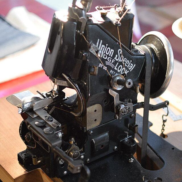 チェーンステッチ裾上げ ミシン ユニオンスペシャル 43200G 綿糸を使用したアタリの出やすいヴィンテージ仕上げ (3cm未満カット)