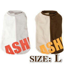 Dog cool were /ASHU スポーツクーリングノースリーブ L / dog clothing クールシャツ cool vest / Schnauzer Pug heat on / 5P13oct13_b