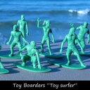 """Toy Boarders """"Toy surfer″ トイボーダー おもちゃ 玩具 男の子 オブジェ コレクション インテリア トイストーリー グリーンアーミー 兵隊 サーファー サーフ サーフィン おしゃれ インダストリアル 男前 ブルックリン フィギュア ジオラマ 模型 10P01Oct16"""
