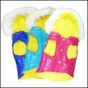 フード付き ダウンベスト (中綿)/ピンク 犬服 [ フレンチブルドッグ パグ 他 犬 洋服 犬 服 ]【あす楽対応】10P12May14【RCP】【HLS_DU】