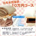 新春福袋!10万円コース 豪華12点セット 羽毛布団+布団カ...