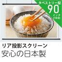 プロジェクタースクリーンリア投影型90インチ (16:9)日本製