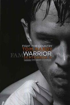 【映画ポスター】 ウォーリアー Warrior トム・ハーディ /モノクロ アート インテリア おしゃれ フレームなし /両面