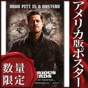 ショッピングバス 【映画ポスター】 イングロリアス・バスターズ (ブラッド・ピット) /ADV-B-DS