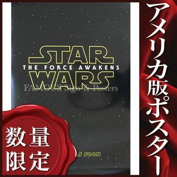 【STAR WARS ポスター】 スター・ウォーズ フォースの覚醒 映画グッズ /1st-ADV