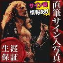 ショッピングLED 【直筆サイン入り写真】 レッドツェッペリン Led Zeppelin グッズ ロバートプラント Robert Plant /ブロマイド オートグラフ