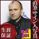 ショッピングシングル 【直筆サイン入り写真】 フィル・コリンズ Phil Collins / シングルズ・コレクション 等 /ブロマイド オートグラフ