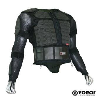 為老型號支持减30%YOROI LT JACKET MENS L尺寸鎧L球座茄克上半身防護具,單板滑雪防護具,滑雪防護具,鎧防護具,茄克型防護具