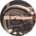 【土日もあす楽】【送料無料】Tern ターン DAHON ダホン 折りたたみ 自転車 sks 20 mudguard マッドガード フェンダー 泥除け