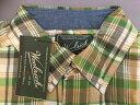 インディアマドラスチェックシャツ メンズ 米国 コットン 綿 ウールリッチ woolrich woolenmills チェック柄 サイズS/2 T061