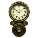 日本製 さんてる ミニだるま 電波振り子時計...