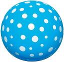 ドットボール ブルー 24cm ビーチボール プールや海水浴...