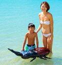 ユニークな昆虫フロート オオクワガタフロート 浮き輪 浮輪 うきわ ウキワ プールや海水浴に グリップ付き イベントのディスプレイにも 105X66cm おもちゃ