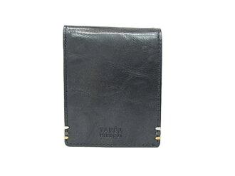 Takeo Kikuchi folio wallet black TAKEO KIKUCHI TK