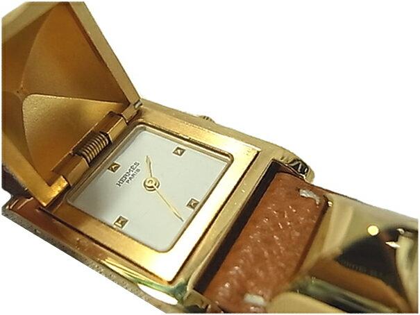 エルメス メドール 腕時計 レディース時計 HERMES 【質屋出店】【】【送料無料】